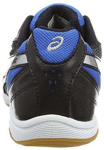 Asics Gel-sinic Gs - Zapatillas de deporte Unisex niños Negro / Plateado / Azul