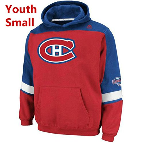 - Majestic Montreal Canadiens Youth Small Hooded NHL Lil Ice Classic Sweatshirt
