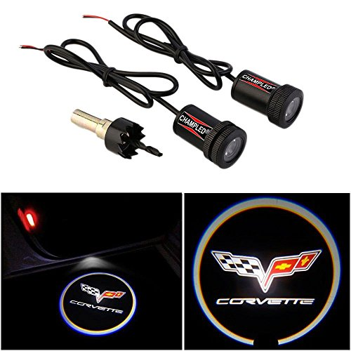 CHAMPLED® For CHEVROLET CORVETTE Laser Projector Logo for sale  Delivered anywhere in USA