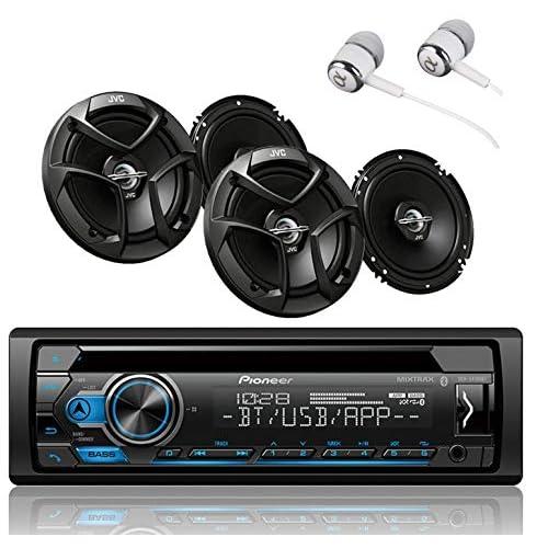 Pioneer DEH-S4100BT Single DIN Bluetooth - TiendaMIA com