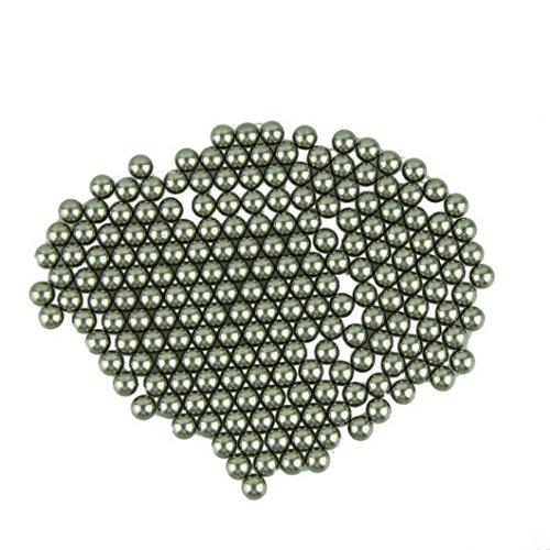 "Voberry® Chrome Slingshot Steel Ammo Balls,200 qty 5/16"" (8mm)"