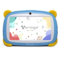 "Vorago Tablet Kids Uso Rudo 7"", 1gb Ram, 16gb Interna Dog Azul para Niños Android 9.0"