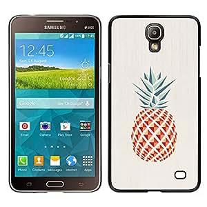 Stuss Case / Funda Carcasa protectora - Piña Polígono minimalista Weed - Samsung Galaxy Mega 2