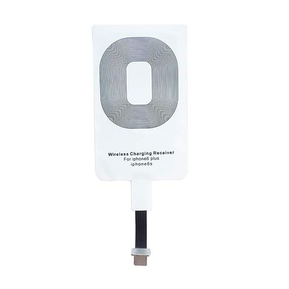 Qrity Qi Wireless Charger Receptor de Cargadores Qi para iPhone 6 Plus / iPhone 6s Plus / iPhone 7 Plus