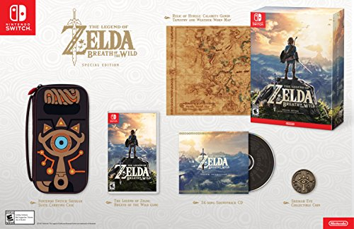 Legend Zelda Breath Special Nintendo Switch product image