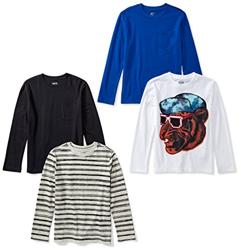 Spotted Zebra 4 Pack Long Sleeve T Shirts