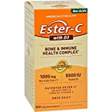 American Health Ester C With D3 60 Tab