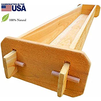 Amazon timberlane gardens long outdoor rectangular planter box timberlane gardens long outdoor rectangular planter box kit deck patio balcony western red cedar with mortise workwithnaturefo
