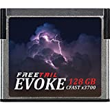 FreeTail EVOKE 3700x 128GB CFast 2.0 Memory Card, Up To 560MB/s, VPG-130 (FTCF128A37)