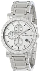 Bulova Men's 96E03 Diamond Accented Watch