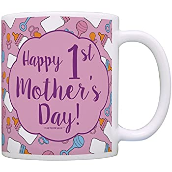 Amazon.com: First Mothers Day Gifts Happy 1st Mother's Day