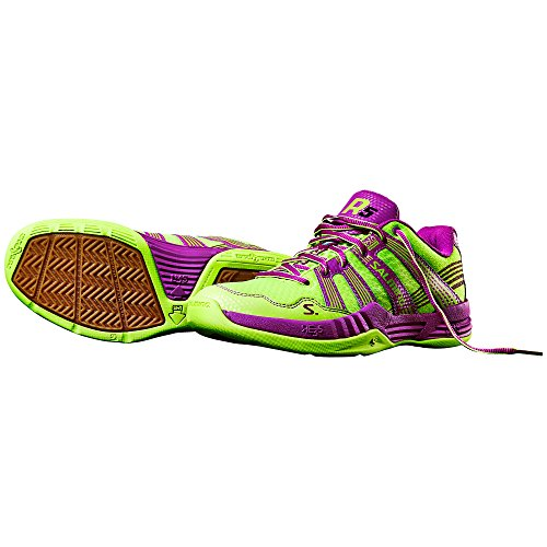 0 Indoor Womens Púrpura Amarillo Salming Zapatillas 3 Race R5 YHdwqIg
