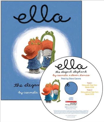 Ella The Elegant Elephant Read Along Library (Book/AudioCD)