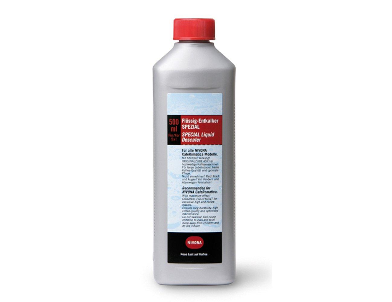 Nivona 390700300 500 ml für 5 Anwendungen Entkalker flüssig NIRK703 Bean to Cup