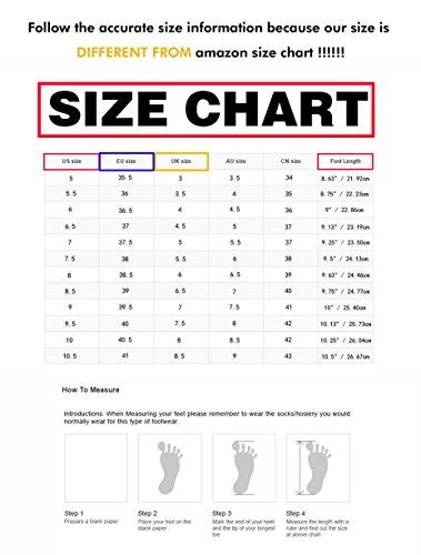Piattaforma alla Nuziale Partito Cinturino da Scarpe Donna a Caviglia Sposa Spillo Tacco CHMILE Moda Sandali a Eleganti Alto Rosso CHAU 1cm qTZnz