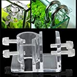 Acrylic Aquarium Hose Fixing Clip Water Pipe Fixing Tube Holder Clamp Fish Tank Tube Fixing Clip offers