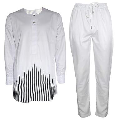 HD Ropa Africana Hombre Bordado Dashiki Camisas y Pantalones ...