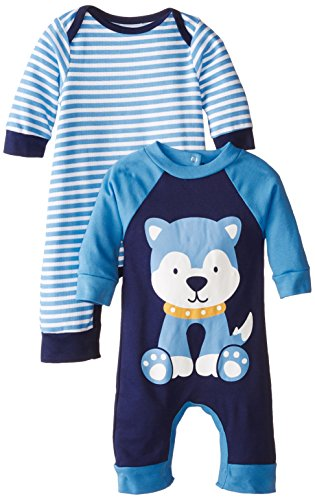Amazon Com Gerber Baby Boys 2 Pack Coveralls Clothing