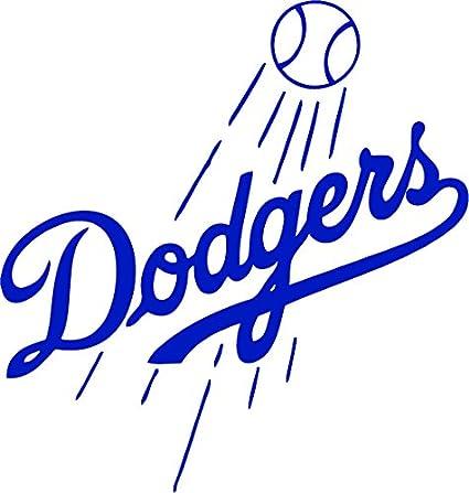 c510cc251ef L.A. Dodgers Vinyl Decal  quot Sticker quot  For Car or Truck Windows