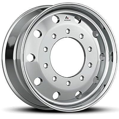 "Accuride 22.5"" x 9"" Flat-Face 10000LB Steer 10 Lug Semi-Polished Wheel (40012SP)"