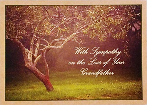 - With Sympathy on the Loss of Your Grandfather Greeting Card -