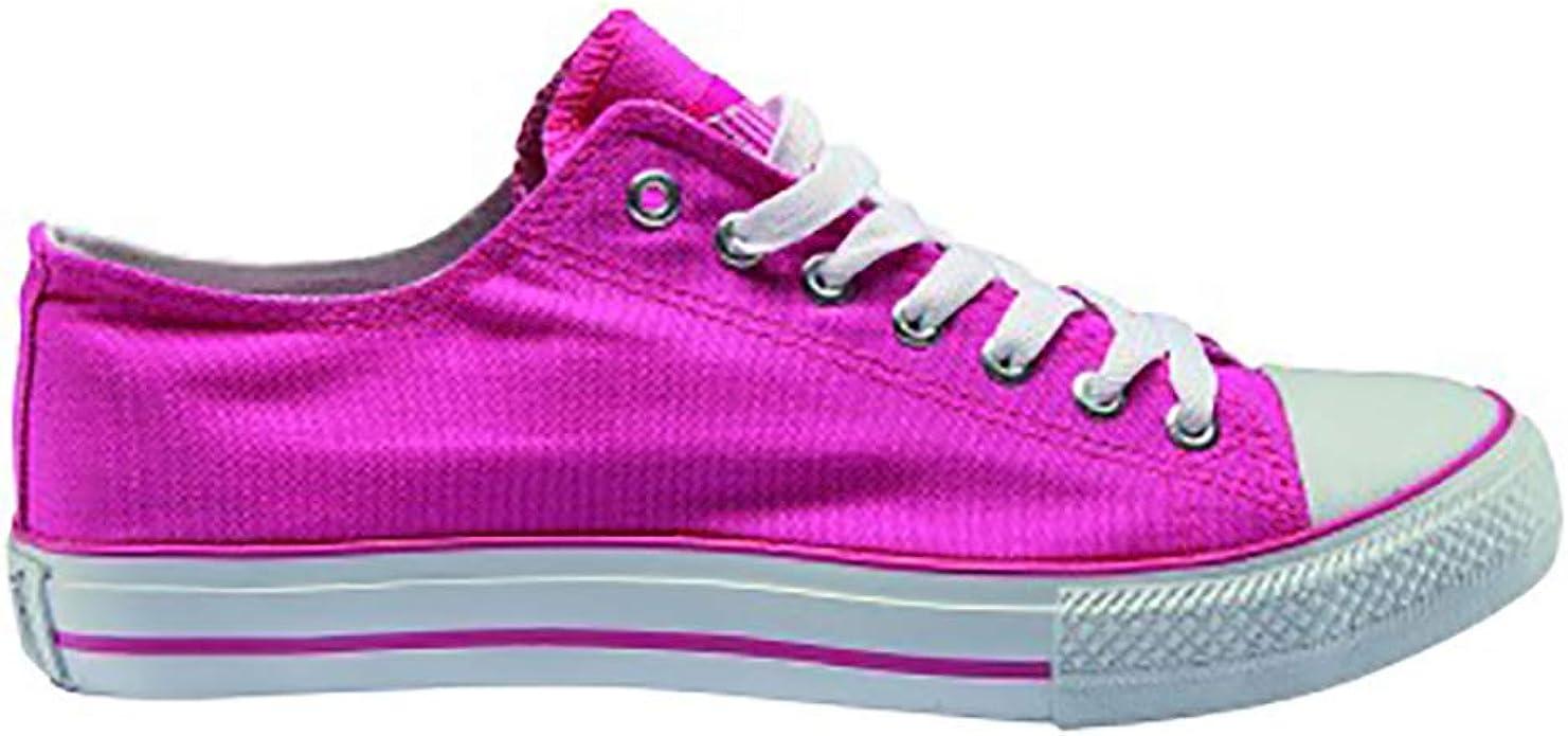 Zapatilla Running Mujer JOHN SMITH, en Lona Fucsia - summer18V-1: Amazon.es: Zapatos y complementos