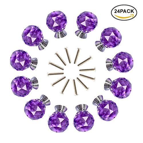 purple cabinet knobs - 8