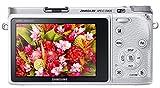 Samsung NX500 28 MP Wireless Smart Mirrorless Digital Camera with 16-50mm Power Zoom Lens (White)