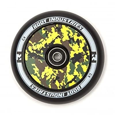 Root Industries Air Mix Wheels 110mm black/camo (Pair) : Sports & Outdoors