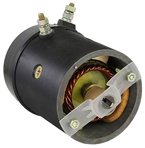 Fisher Plow Motor - NEW SNOW PLOW MOTOR FITS DUAL POST 21500 452254 FISHER & WESTERN W/OIL SEAL 12V 21500 452254