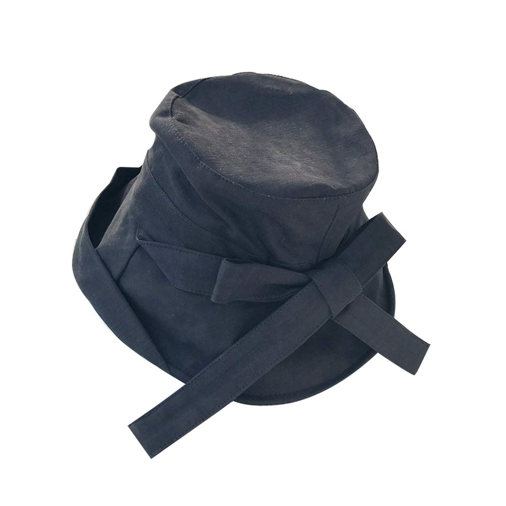Rollable Bow Visor hat Wide Brim Fishermans hat Fishing Boating Bucket Hat