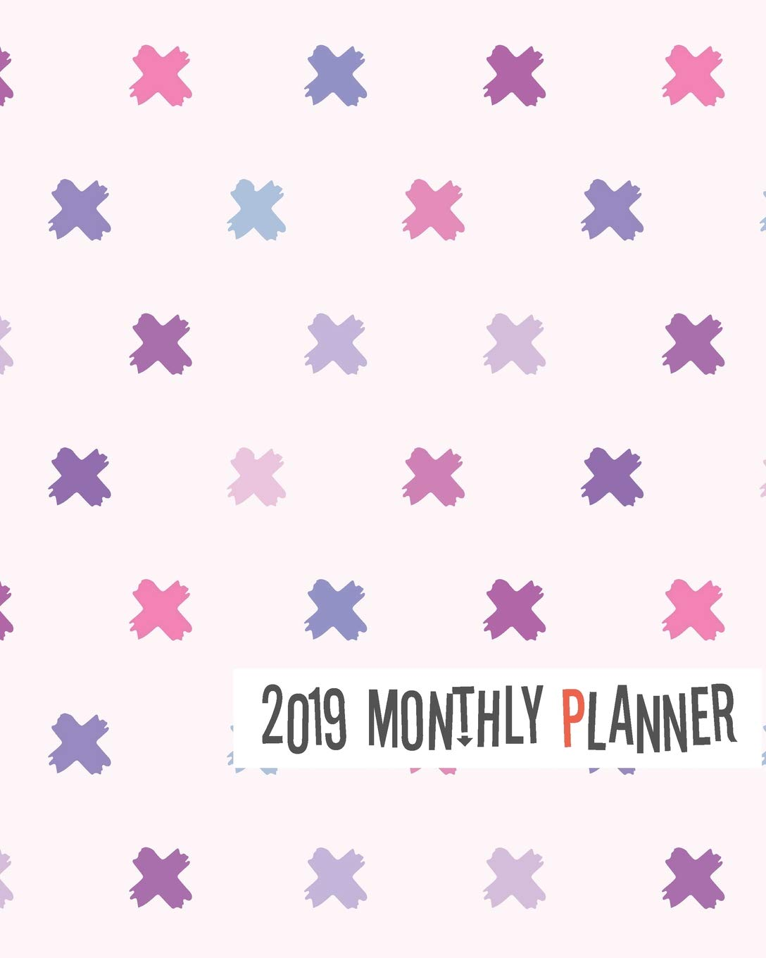 2019 Monthly Planner: Yearly Monthly Weekly 12 months 365 ...