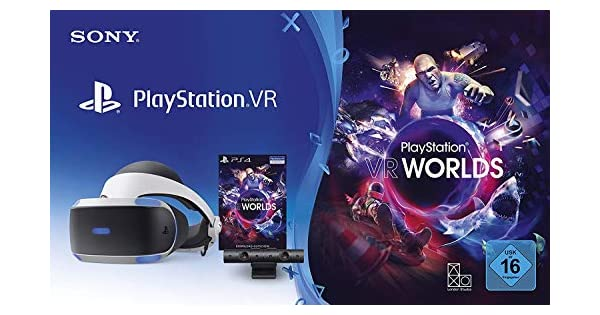 Sony Playstation VR (V2) inkl. Kamera + VR Worlds (CUH-ZVR2 ...