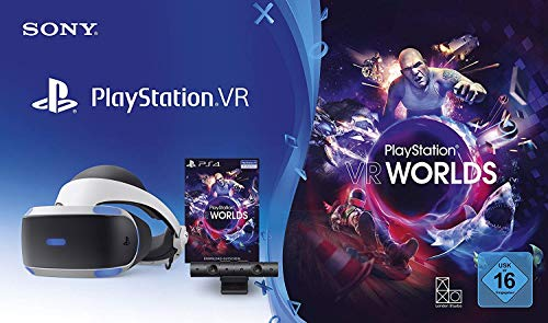 PlayStation 4 Virtual Reality + Camera + VR Worlds Voucher [neue PSVR Version] 1