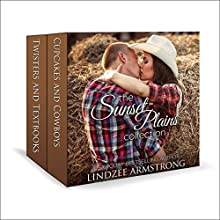 Sunset Plains Collection: Cupcakes and Cowboys, Twisters and Textbooks: Sunset Plains Romance Audiobook by Lindzee Armstrong Narrated by Stacey Glemboski