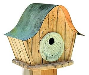 Duramen 237B Katy de kottage decorativa casa de pájaros