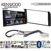 Volunteer Audio Kenwood DMX7704S Double Din Radio Install Kit with Apple CarPlay Android Auto Bluetooth Fits 1995-2002 Silverado, Sierra