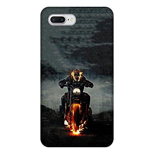 Coque Apple Iphone 7+ - Ghost Rider Motard