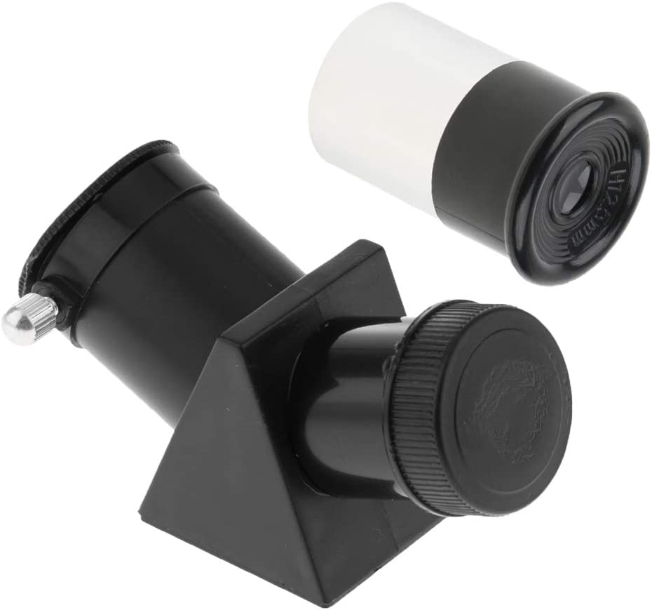 0.965inch//24.5mm Star Diagonal Erect Image Prism 35 Degree H12.5mm Eyepiece for Astronomy Telescope
