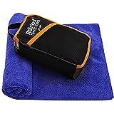 Rainleaf Microfiber Bath Towel Quick Dry Bath Swimming Towel,Oversized,Ultra-Compact,Super Absorbent,Washcloths for…