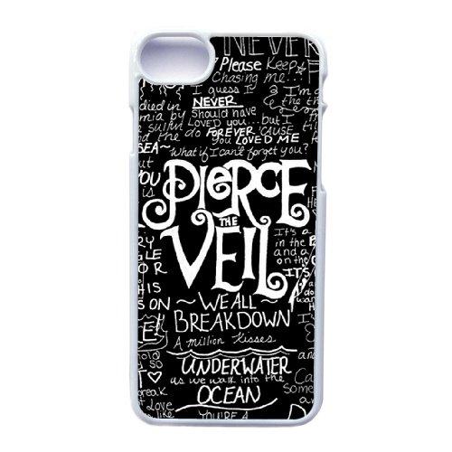 Coque,Apple Coque iphone 7 (4.7 pouce) Case Coque, Generic Pop Pierce The Veil Cover Case Cover for Coque iphone 7 (4.7 pouce) blanc Hard Plastic Phone Case Cover