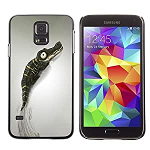 MEIMEIGagaDesign Phone Accessories: Hard Case Cover for Samsung Galaxy S5 - Cute CrocodileMEIMEI