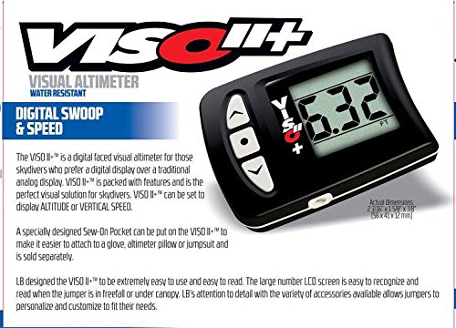 New L&B Viso 2+ parachute Skydiving Digital Altimeter by Viso2+