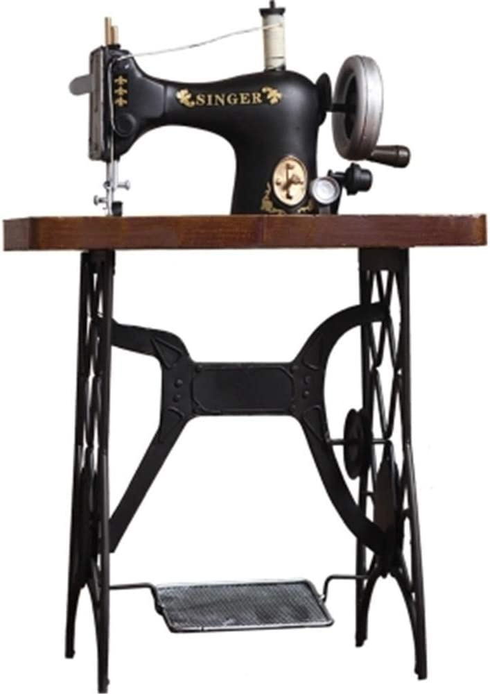 KIKIXI - Máquina de Coser Vintage Antigua para salón, Dormitorio ...