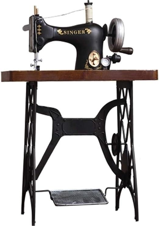 KIKIXI - Máquina de Coser Vintage Antigua para salón, Dormitorio, decoración de Bar, cafetería, decoración Artesanal, decoración: Amazon.es: Hogar