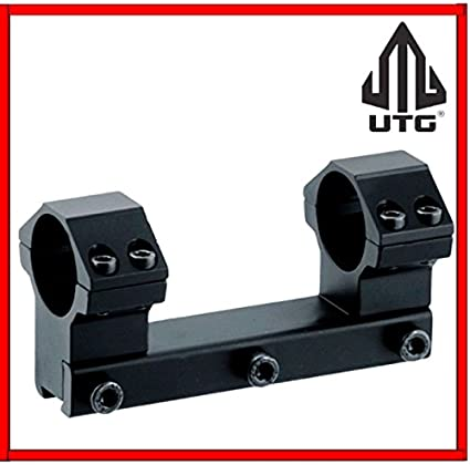 Utg Rgpm2pa 25h4 Leapers Accushot 1 Pc Mount With 1 In Rings High 11mm Dovetail Gun Scope Mounts Amazon Canada