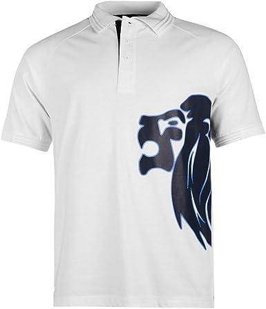 Lonsdale - Polo para hombre azul marino/blanco S: Amazon.es: Ropa ...