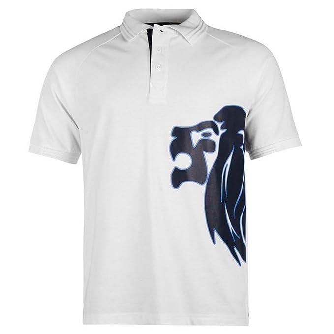 Lonsdale - Polo - para Hombre Azul Marino/Blanco Small: Amazon.es ...