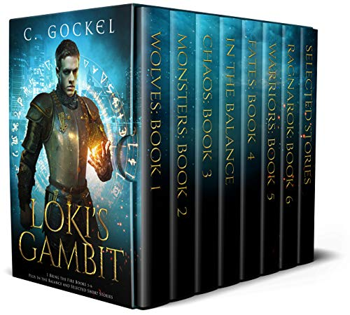 Loki's Gambit: I Bring the Fire Books by C. Gockel ebook deal