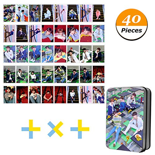 Youyouchard Kpop BTS TXT Tomorrow X Together Ablum The Dream Chapter: Star Photo Card Poster Lomo Cards Self Made Paper HD Photocard/Crystal Card Sticker (Style 9: Cards in Iron Box(1)) from Youyouchard